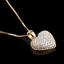 Pingente Coração Ouro 18k!