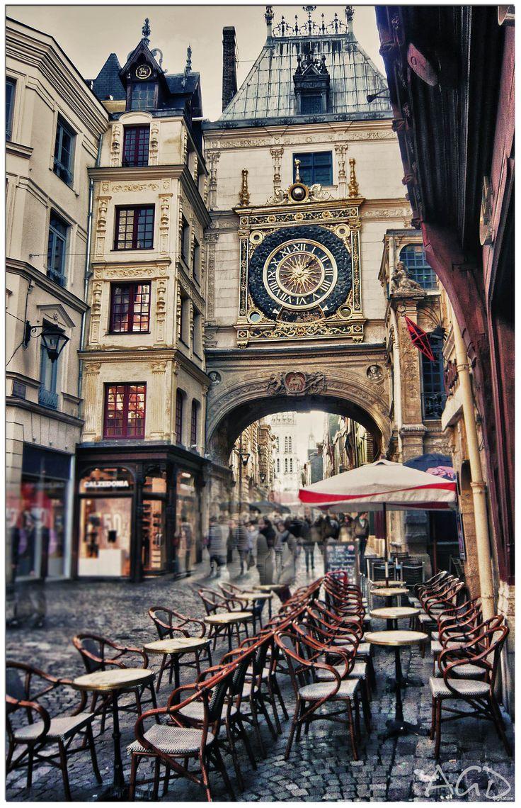 La rue du Gros-Horloge à Rouen ( Normandie) Arnauld Grassin Delyle Photography 2014 http://grassindelyle.fr/