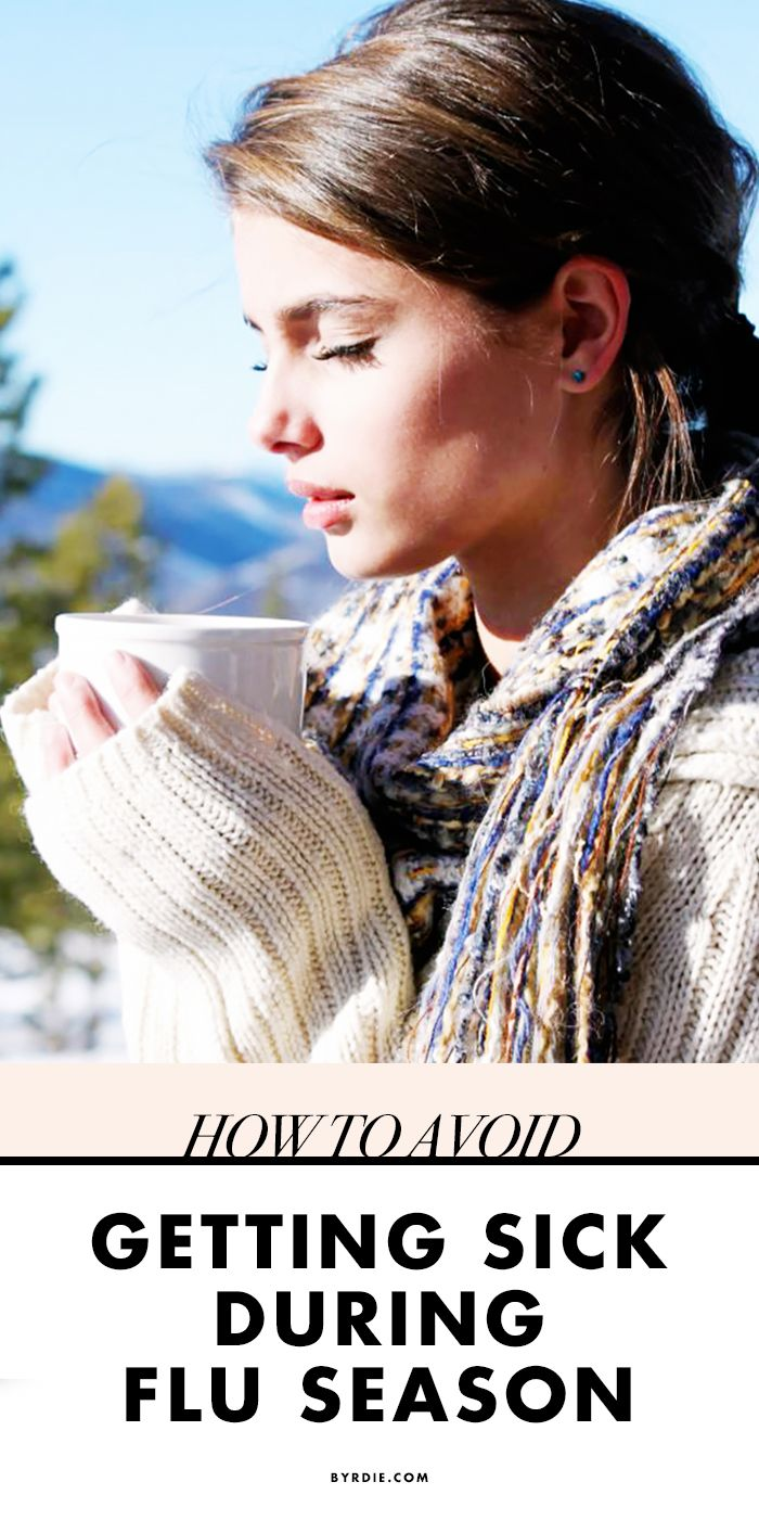How To Avoid Getting Sick This Cold And Flu Season