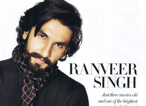 Ranveer Singh on Harper's Bazaar Man Cover – November 2013
