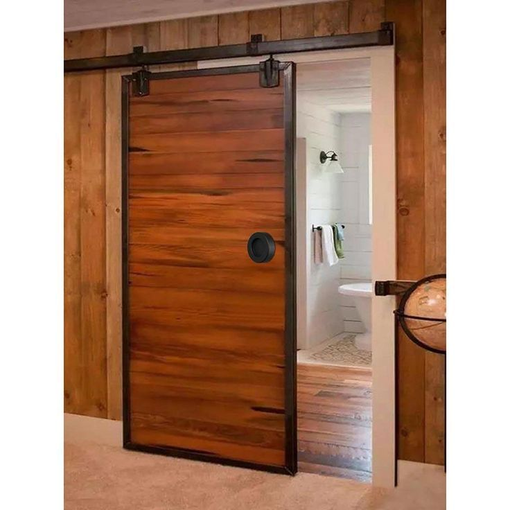 Heavy Duty Single Sliding Barn Door Interiorbarndoors Wood Doors Interior Sliding Barn Door Hardware Barn