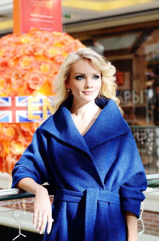 Короткое пальто ультрамарин! Теплое, уютное и очень комфортное!!! Последний шанс по приятной цене!