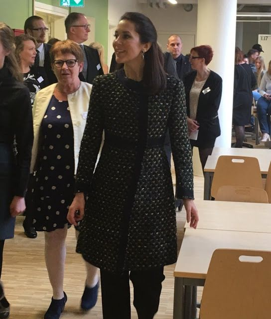 April 15, 2016--Princess Mary opened a new social and health school