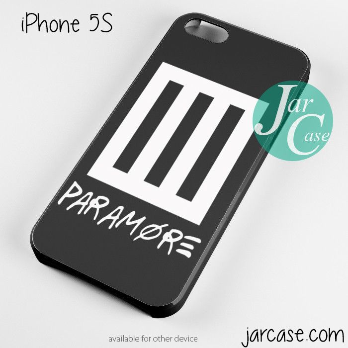 paramore band logo Phone case for iPhone 4/4s/5/5c/5s/6/6 plus