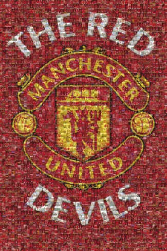 Manchester United - The Red Devils Poster from AllPosters.com