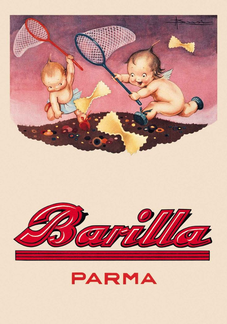 Barilla poster from 1931