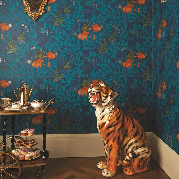 """117 Likes, 5 Comments - Wallpaperdirect (@wallpaperdirect) on Instagram: """"Easy tiger! Here is another Cole and Sons wallpaper design we are rather fond of called Nautilus…"""""""