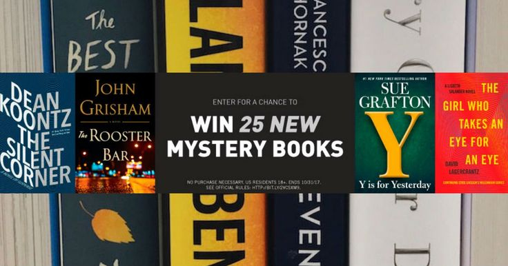 ★★★ 🅽🅴🆆 ★★★ Win 25 Brand-New Mysteries from Penguin Random House:   Enter the Penguin Random House Fall 2017 Mystery Sweepstakes for a…
