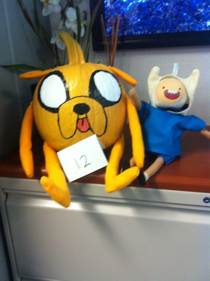 Adventure Time Finn And Jake Pumpkins Pumpkins