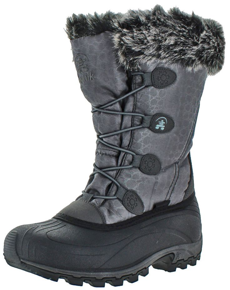 Kamik Momentum Women's Waterproof Nylon Snow Boots