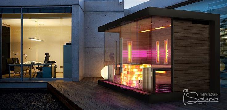 Image result for modern infrared sauna