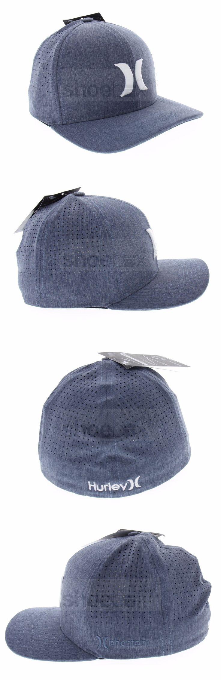Hats 163543: Hurley Men S Phantom Vapor 3.0 Blue White Lightweight Hat Cap Mha0007290 45B -> BUY IT NOW ONLY: $34.96 on eBay!