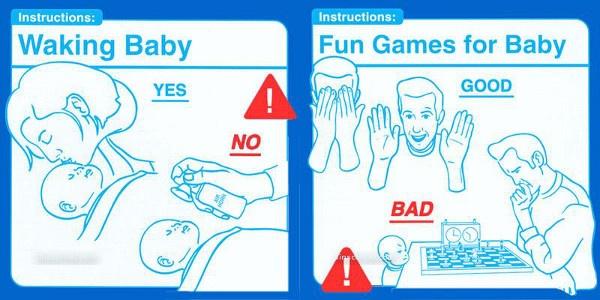 Waking Baby, Fun Games for Baby http://evobig.blogspot.com/2012/08/instruksi-merawat-bayi-yang-bikin-ngakak.html