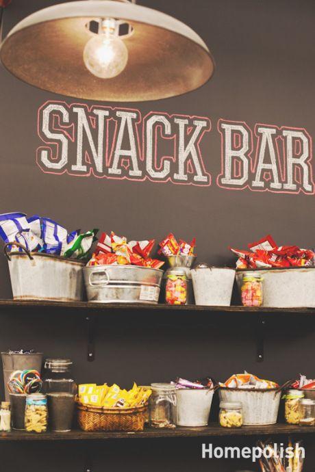 Homepolish snack bar