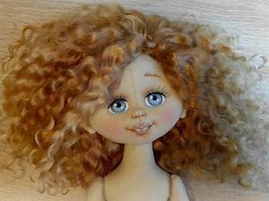 Как сделать объёмное личико текстильной кукле | Ярмарка Мастеров - ручная работа, handmade