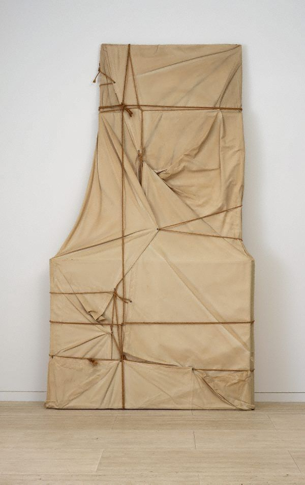Wrapped Paintings by Christo