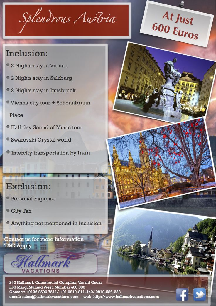 Best the offers of tours packages with hallmark Vacations.http://goo.gl/tcy7Hv