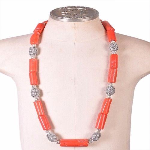 Coral Necklace, Bracelet