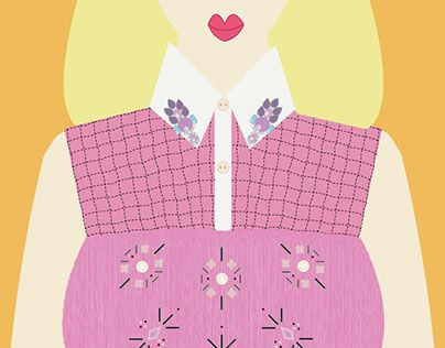 """Check out new work on my @Behance portfolio: """"Royal Pink"""" http://be.net/gallery/33397081/Royal-Pink"""