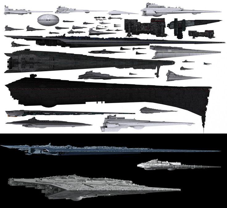 star destroyer enterprise size comparison - photo #46