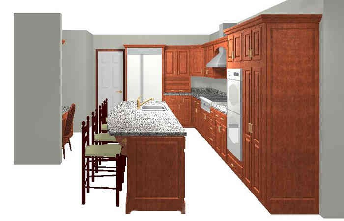 Narrow island with seating kitchens pinterest - Narrow kitchen island with seating ...