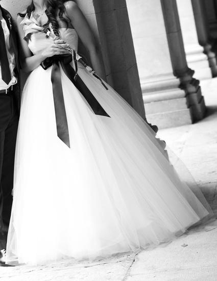 Très belle robe de mariée David Fielden