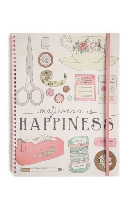 Typo Store | a4 spinout notebook | A$6.95 | I love this journal...super cute!! <3