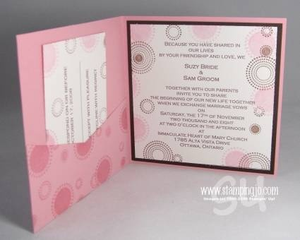 56 best Stampin Up Wedding Invitations images on Pinterest ...