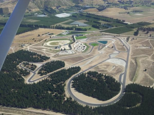 March 2013 Bird's-eye view . . . An aerial photo shows the true size of the Highlands Motorsport Park development.