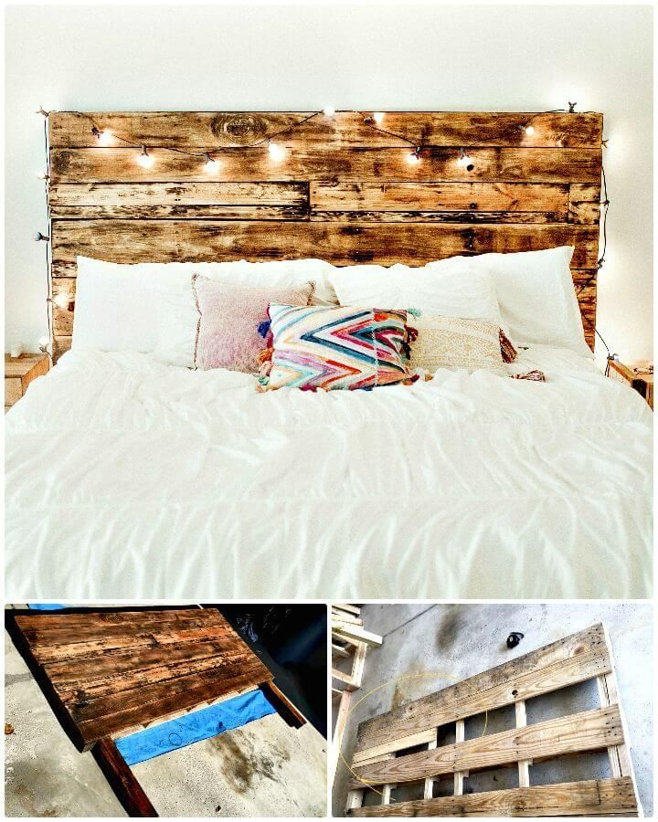 Magnificent Diy Headboard Ideas And Their Description Pallet Headboard Diy Headboard Designs Home