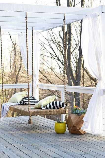 30 ιδέες για να κρεμάσετε κουρτίνες στον κήπο και στους εξωτερικούς χώρους!