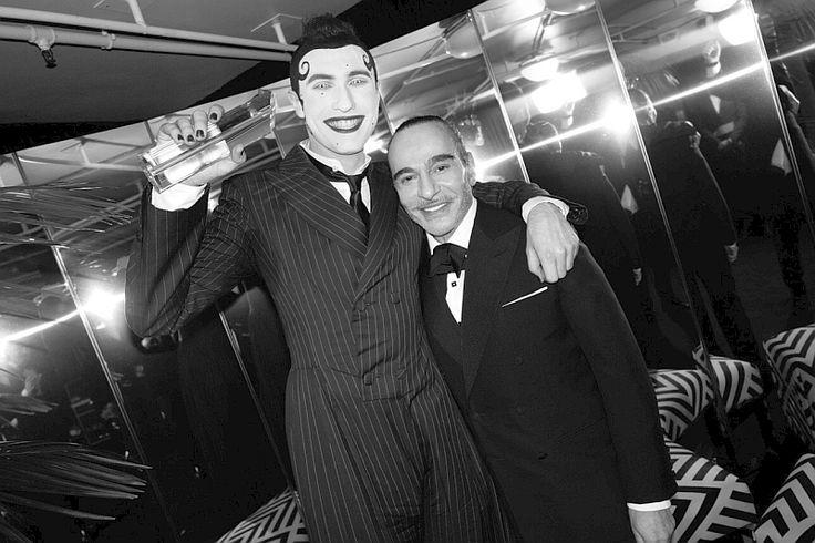 2017 British Fashion Awards_Charles Jeffrey och John Galliano av greg williams