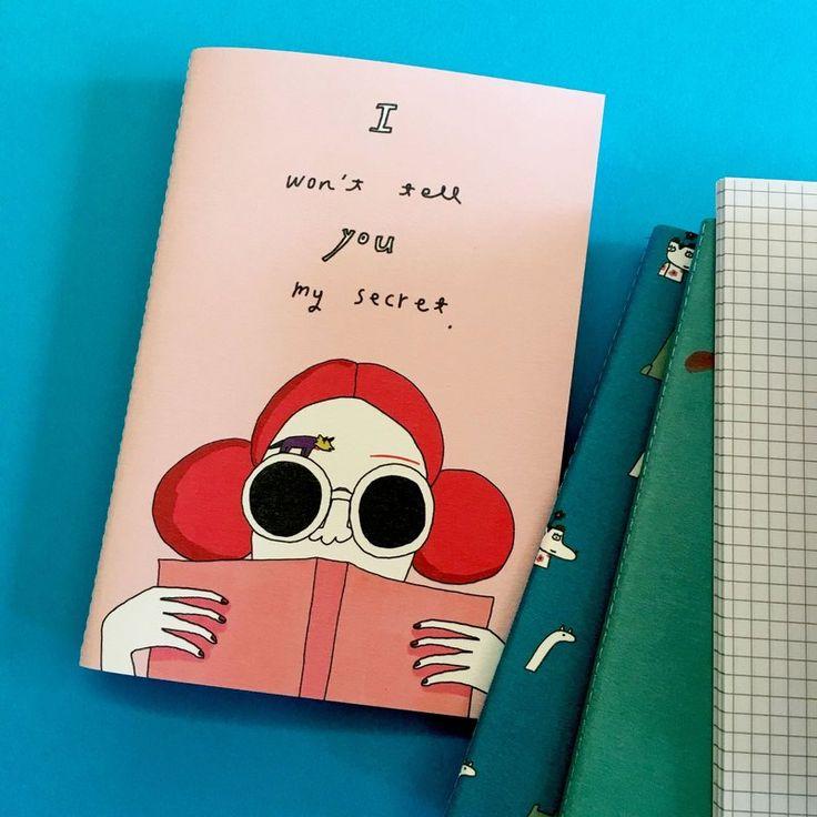 台湾のデザイナー「macaron-toe」のノート・手帳。Pinkoi(ピンコイ)