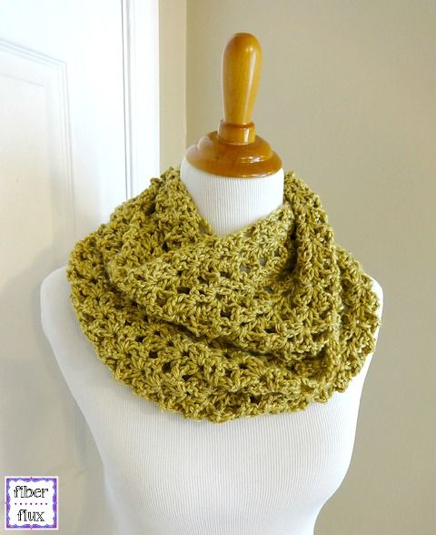 Make this beautiful crochet cowl by Fiber Flux with our featured yarn: Lion Brand Heartland! Save 20% on this yarn through 12/31/15. Free crochet pattern calls for 1 skein of yarn (pictured in shenandoah) and a size J (6mm) crochet hook.