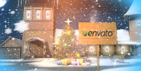 Christmas magic logo