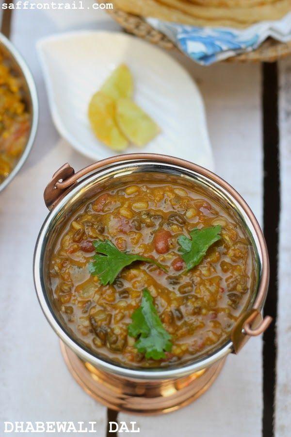 Indian recipes, Punjabi recipes, Dhabewali Dal, Dhaba dal, Punjabi dal recipes