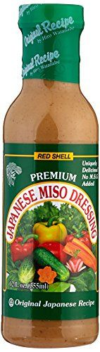 Red Shell Miso Dressing 12 Fl. oz. (Pack of 3) ** Learn more by visiting the image link.-It is an affiliate link to Amazon.