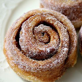 Morning Buns. So happy to have found this recipe. I sometimes find at some Starbucks, and always the perfect amount of light fluffiness  and sweetness!