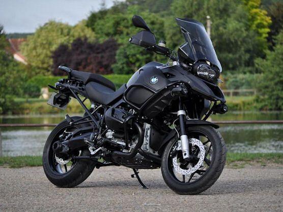 'BlackMat' BMW R1200GS Adventure