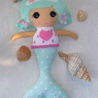 Zboží prodejce 3Bears / Zboží | Fler.cz  fabric doll, mermaid doll
