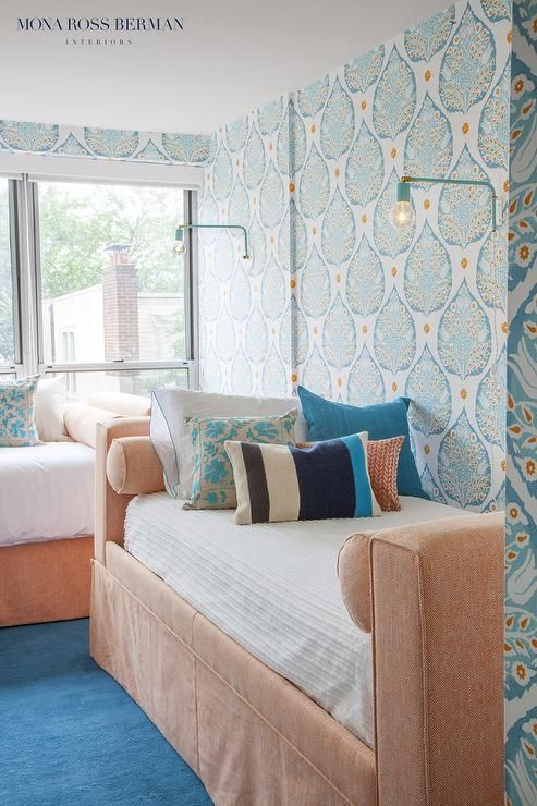 Best 25 teal wallpaper ideas on pinterest timorous for Different wallpapers for walls