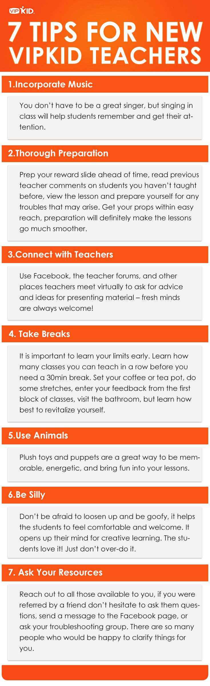 If you are a new VIPKID teacher or hoping to be one - here are some tips to help you ease into your new classroom and more importantly enjoy your job! What advice do you have for new teachers? http://vblog.vipkid.com.cn?p=82