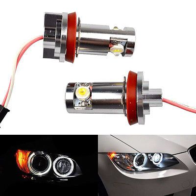 #2×h8 cree bmw led #angel eyes halo #light bulb e92 e93 e90 e82 e60 x5 x6 z4 drl,  View more on the LINK: 	http://www.zeppy.io/product/gb/2/252441593055/