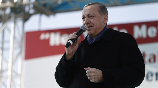 """The people will make the ultimate choice in the referendum: Erdoğan """"The people will make the ultimate choice when we go to a referendum. I believe the people will vote for what is right,"""" says Turkish President Erdoğan"""