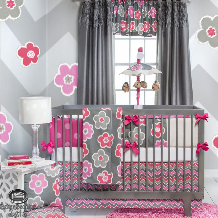 pink baby room decor inspirtaion - Unique Baby Girl Nursery Ideas