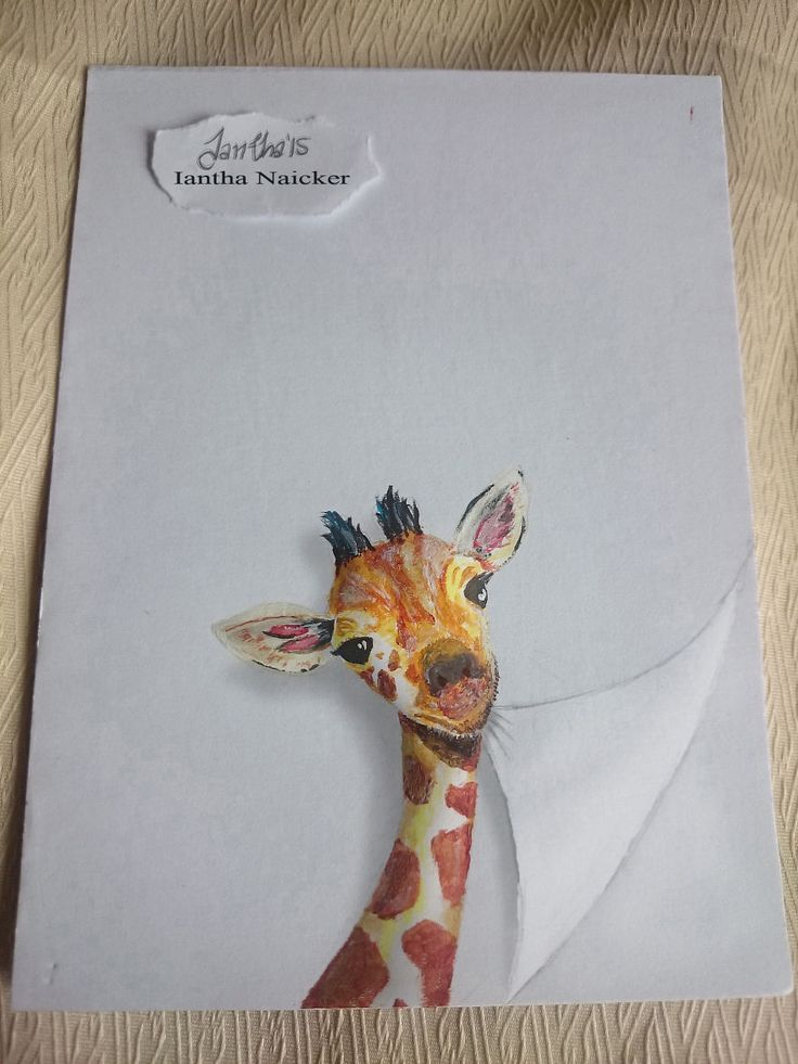 Being hearing impaired I see things in a different perspective. I am inspired by the beauty of nature. I draw and make cards with cute and funny animals playing with paper.