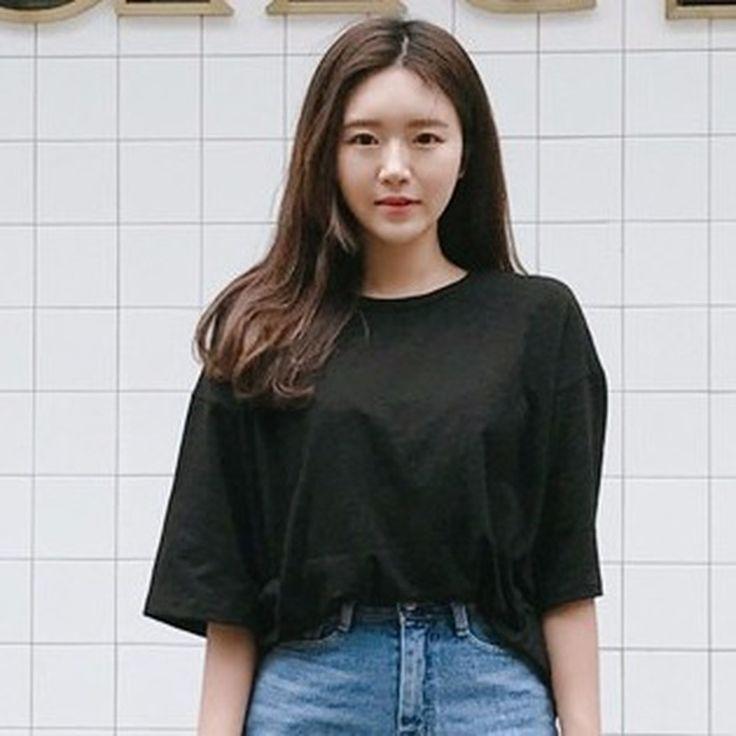 ♡デイリーオーバーフィット半袖Tシャツ♡ #レディースファッション #ファッション通販 #ファッショントレンド #新作 #最新 #モテ服 #韓国ファッション #韓国レディース通販 #ootd #wiw  #fashionaddict #womensfashion #fashion  https://goo.gl/HcQZmR