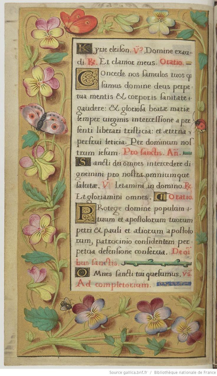 Livre d'Heures d'Anne d'Autriche à l'usage de Rome. | Gallica
