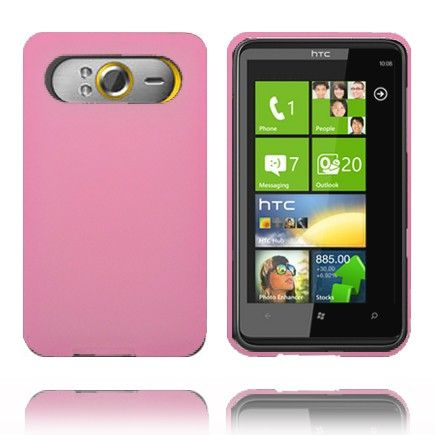 Soft Shell (Rosa) HTC HD7 Deksel