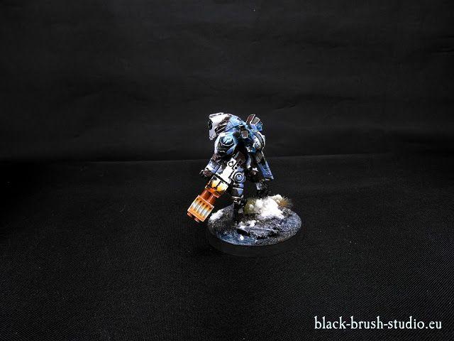 Black Brush Studio - Miniature painting services: Tau Empire: Commander Shadowsun in Winter Camo Scheme